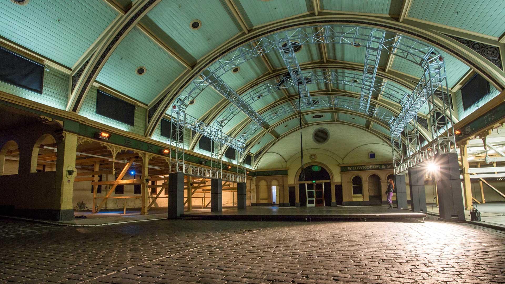 Cobblestone Pavilion