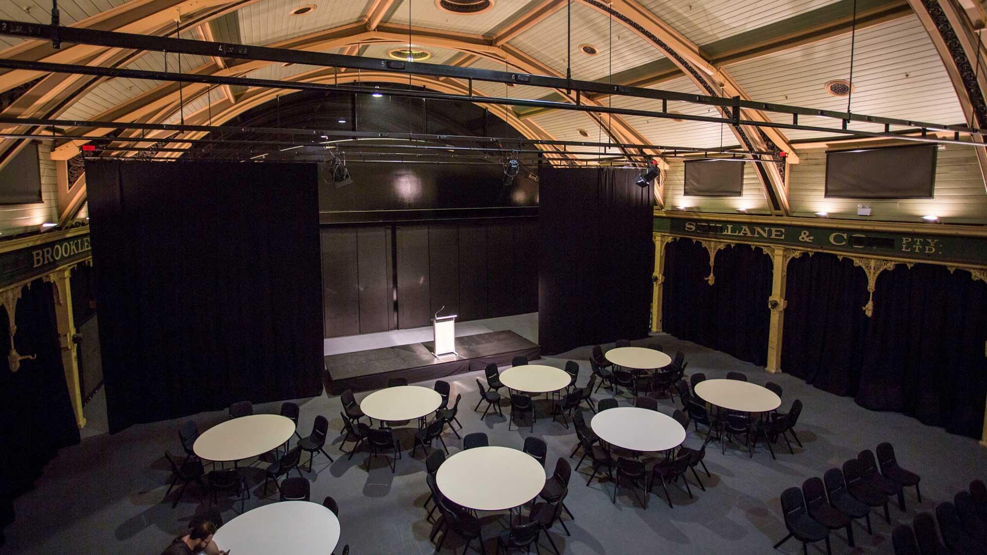 Flat Floor Pavilion